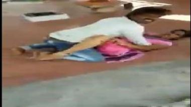 Hot Telugu Aunty Caught Having Sex In Open