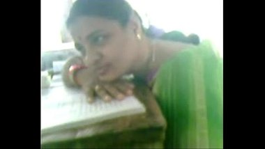 Under Table Romance Of Telugu Aunty