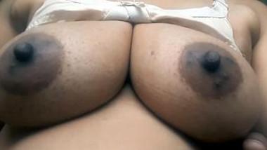 Hot couple hot boob press