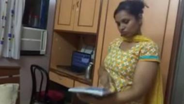 Desi Cousin sister undressing before secret camera