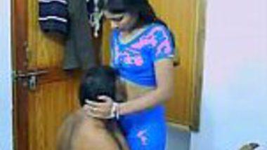 Hindi porn video of Indian desi teacher & principal hot sex