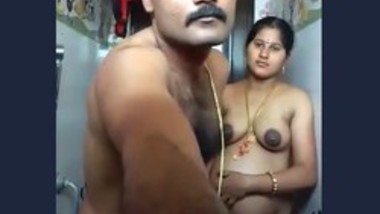Desi hot couple romance in bathroom