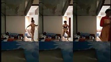 [ Indian Hard Porn ] Desi village bhabi spy nude video