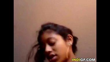 Bengali girl enjoying her maternal uncle