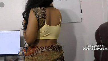Horny Lilly acting as a horny Tamil teacher