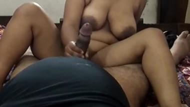 Indian very hot big boob bhabi fucking her husband -2