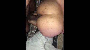 Big black cock fucks tight Asian pussy CREAMPIE