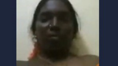 Desi Tamil aunty video call with husband