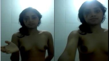Adorable Desi babe records special solo XXX video for her boyfriend