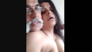 Desi girl having fun and blowjob in home with uncle